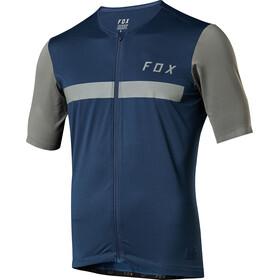 Fox Ascent Kortermede Sykkeltrøyer Herre Blå